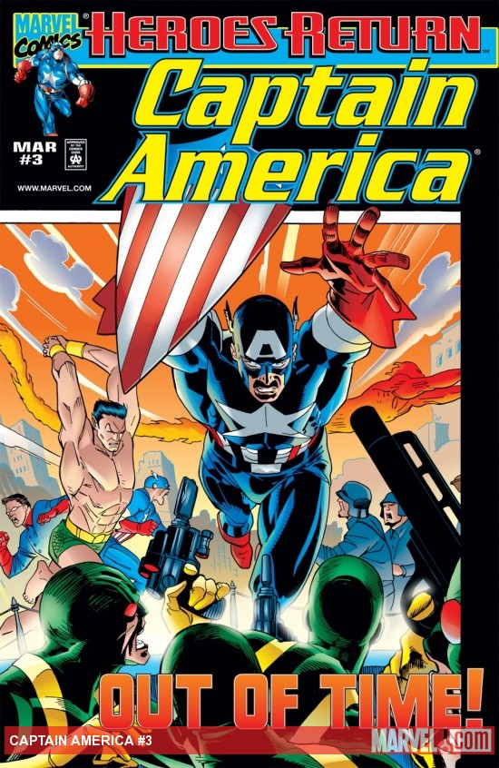 Captain America (1998) #3