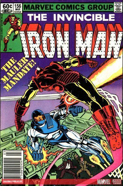 Iron Man (1968) #156 cover