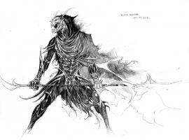 Corvus Glave design art by Jim Cheung