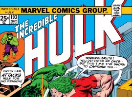 Incredible Hulk (1962) #193 Cover
