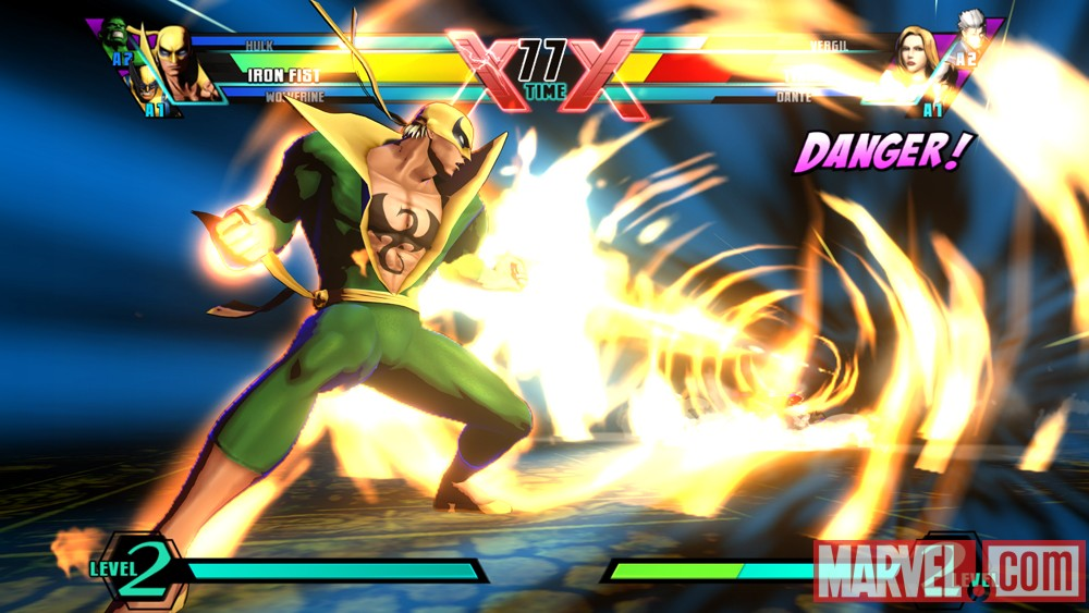 Ultimate Marvel vs. Capcom 3 Iron Fist Screenshot 1