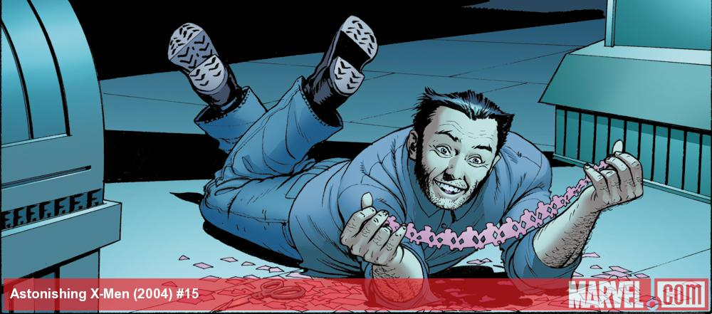Wolverine gets in touch with his crafty side in Astonishing X-Men: Torn
