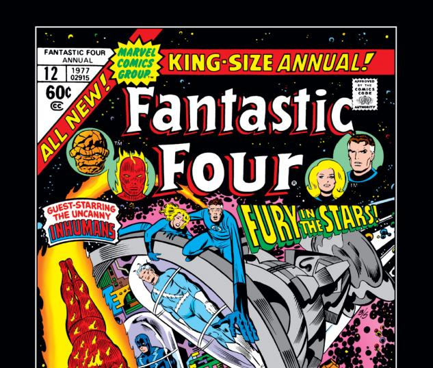 Fantastic Four Annual (1963) #12 Cover