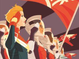 Captain Marvel by Kris Anka
