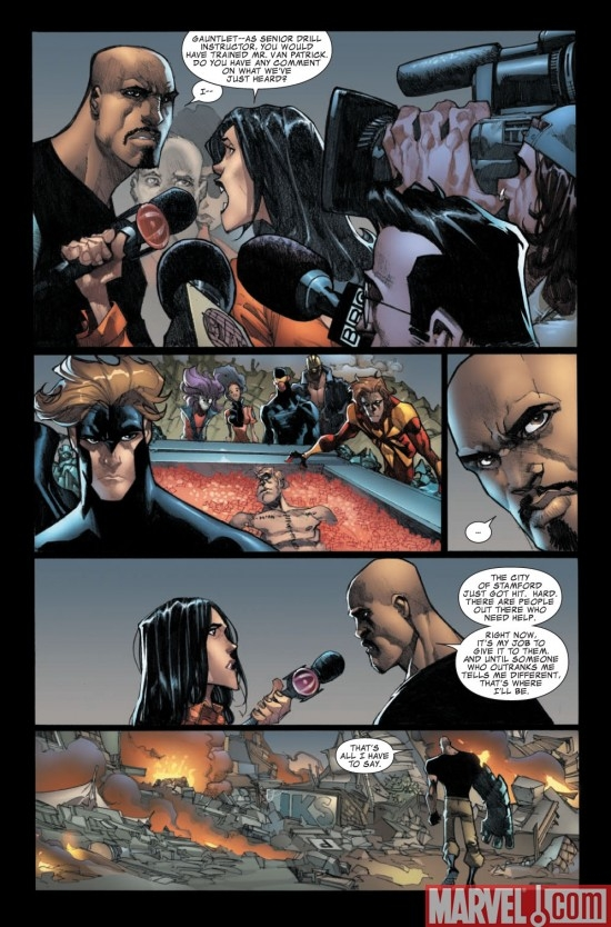 AVENGERS: THE INITIATIVE #23 preview page