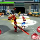 Screenshot of Spider-Man fighting in ''Spider-Man: Total Mayhem''