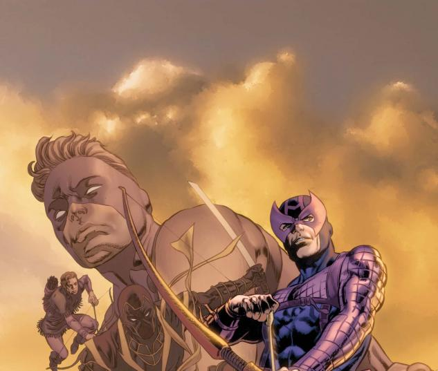 Hawkeye: Blind Spot #4 Cover