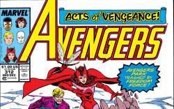 Avengers (1963) #312 Cover