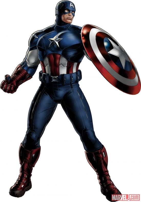 Captain America (Marvel's The Avengers alternate costume) in Marvel: Avengers Alliance