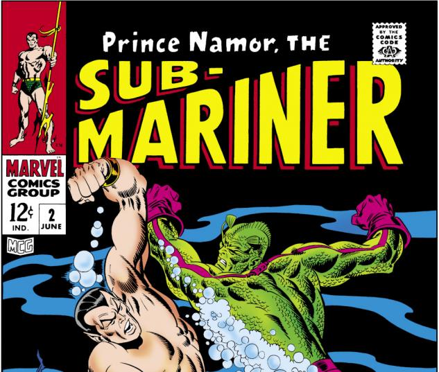 Sub-Mariner (1968) #2 Cover