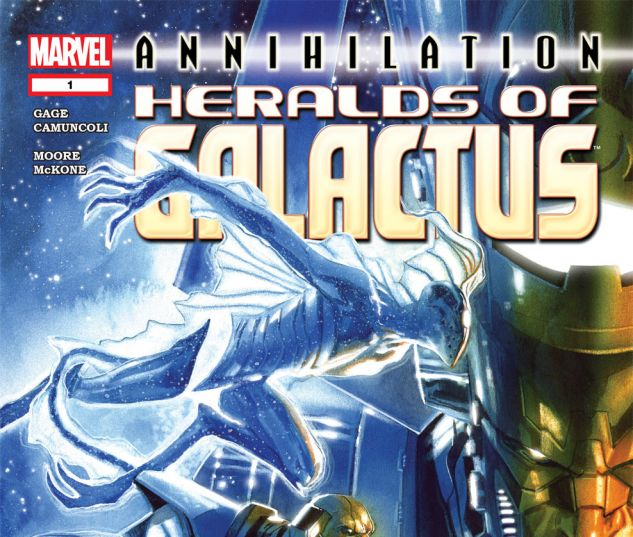 Annihilation: Heralds of Galactus (2007) #1