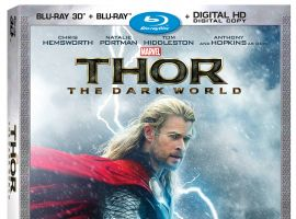 Marvel's Thor: The Dark World Blu-ray 3D Combo Pack package art