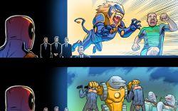 Deadpool Bi-Annual #1 preview art by Salva Espin