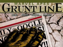 Cover for MARVEL APES: GRUNT LINE SPECIAL #1