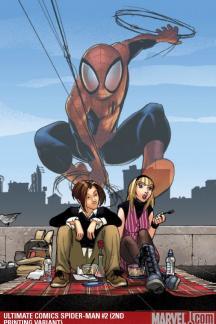 Ultimate Comics Spider-Man (2009) #2 (2ND PRINTING VARIANT)