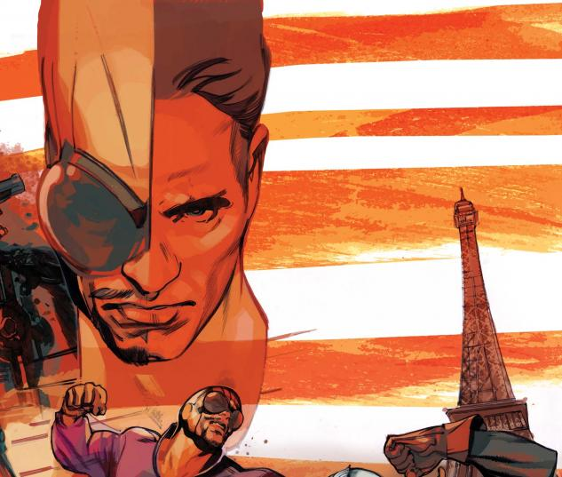 Captain America and Batroc #1 cover by Greg Tocchini