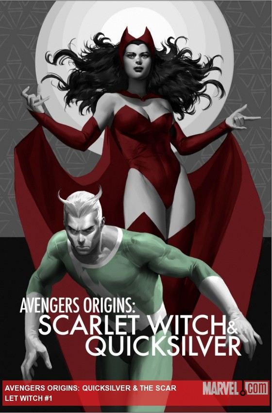 Avengers Origins: Quicksilver & The Scarlet Witch cover