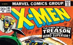 Uncanny X-Men #85 Cover
