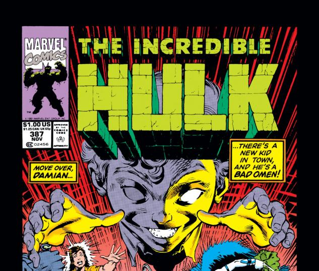 Incredible Hulk (1962) #387 Cover