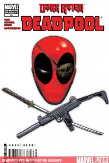 Deadpool (2008) #13 (2ND PRINTING VARIANT)