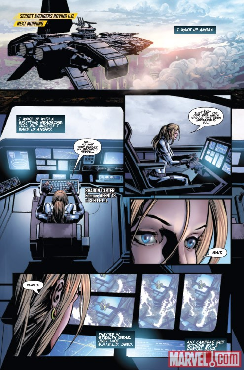 SECRET AVENGERS #2 preview art by Mike Deodato Jr.