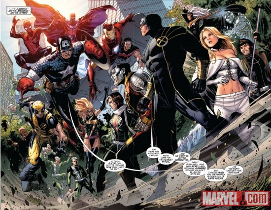 Avengers: The Children's Crusade #7 preview art by Jim Cheung