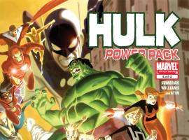 Hulk and Power Pack (2007) #4