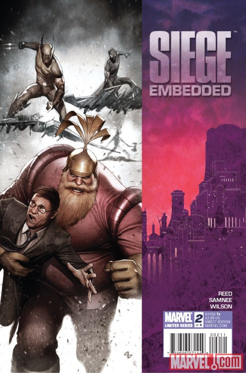 SIEGE EMBEDDED #2 Cover by Adi Granov