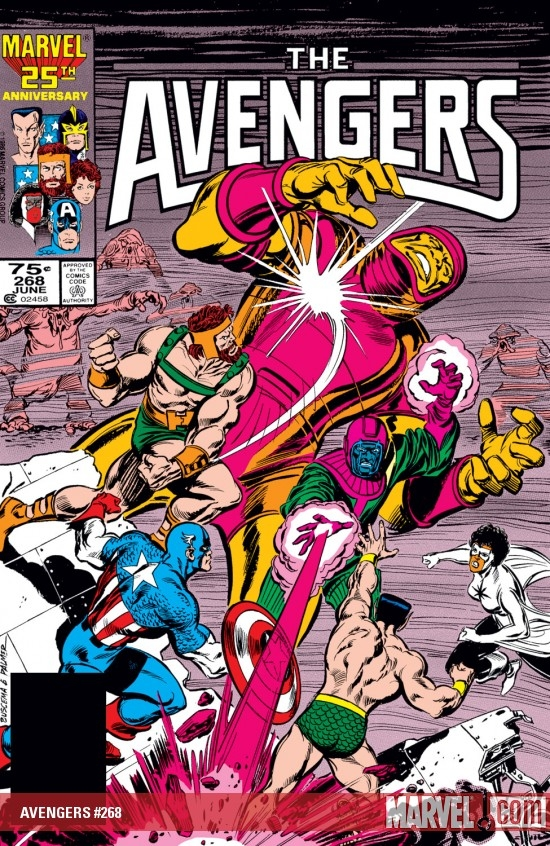 AVENGERS #268