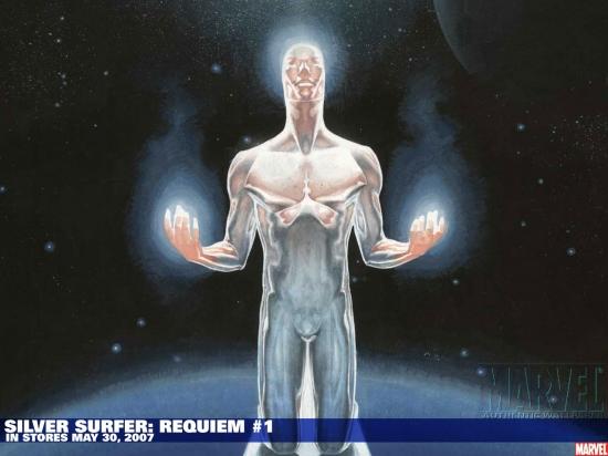 Silver Surfer: Requiem (2007) #1 Wallpaper