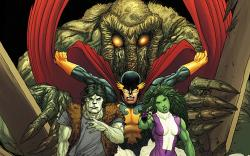 Sneak Peek: Fear ItselF: Fearsome Four #1