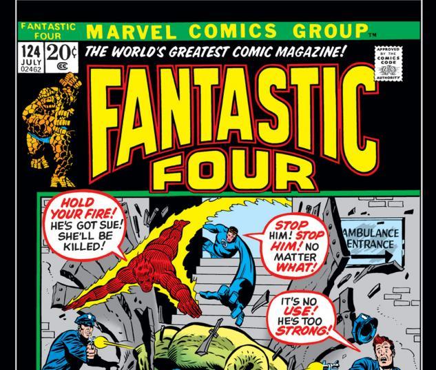 Fantastic Four (1961) #124 Cover