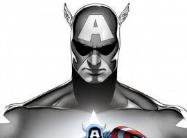 Image Featuring Captain America