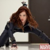 Scarlett Johansson as the Black Widow in ''Iron Man 2''
