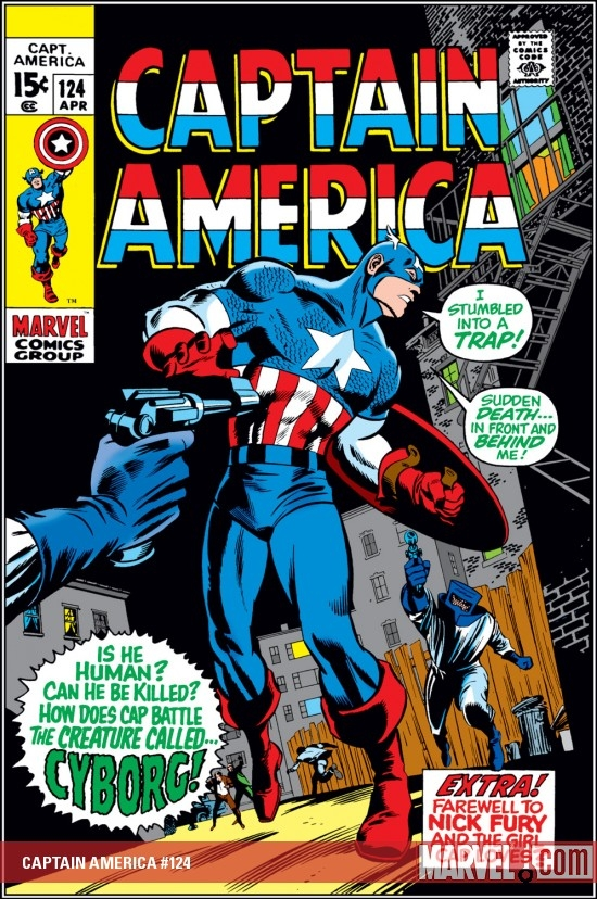 CAPTAIN AMERICA #124 COVER