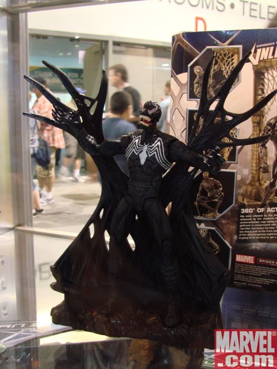 spiderman 3 venom toys. Spider-Man 3 Unleashed