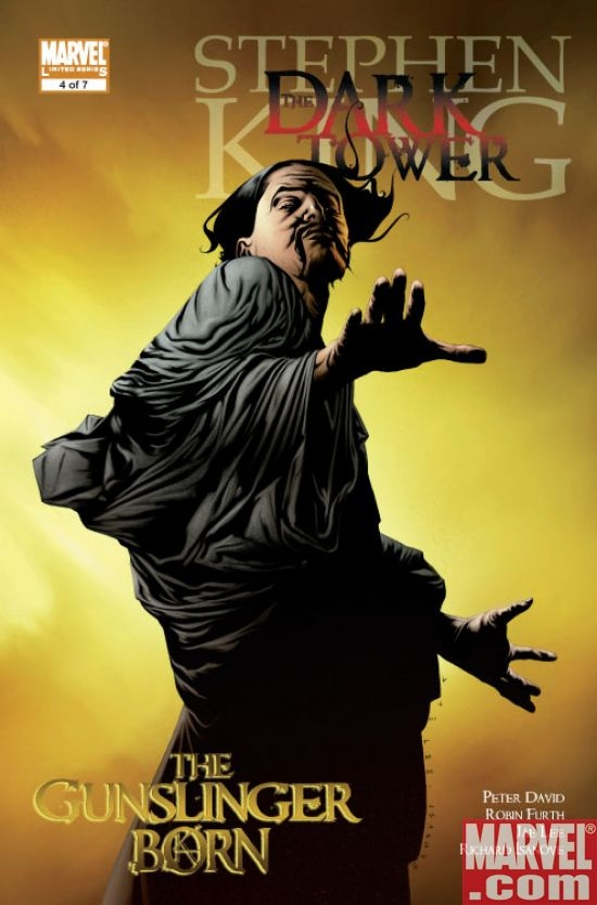 Dark Tower: The Gunslinger Born #4 (reg. ed.)