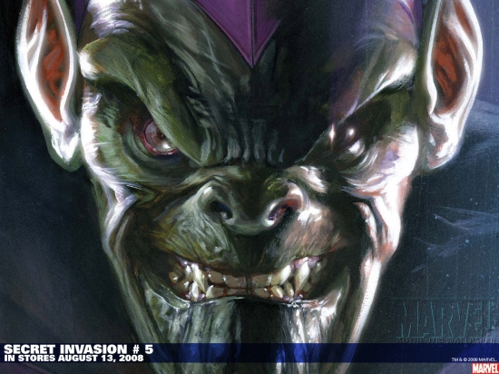 Secret Invasion (2008) #5 (SKETCH VARIANT) Wallpaper