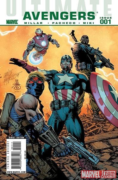 ULTIMATE COMICS AVENGERS #1 cover by Carlos Pacheco