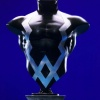 Black Bolt Mini-Bust by Bowen Designs