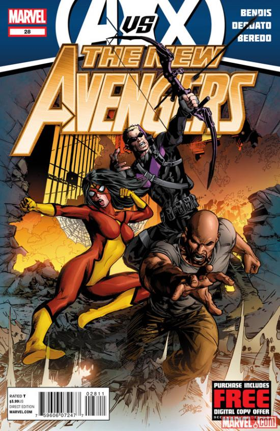New Avengers #28 cover art preview by Michael Deodato