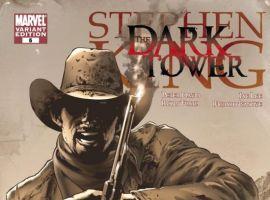 Dark Tower: The Gunslinger Born Art by Greg Land