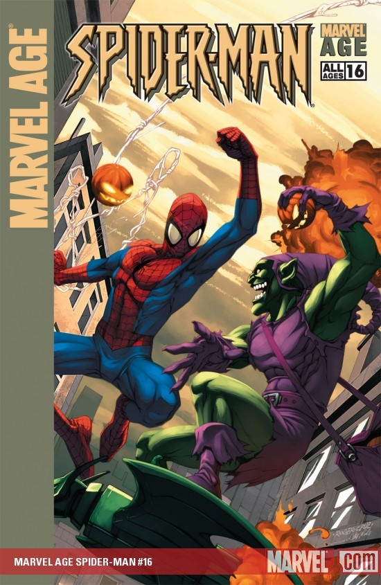MARVEL AGE SPIDER-MAN (1999) #16 COVER