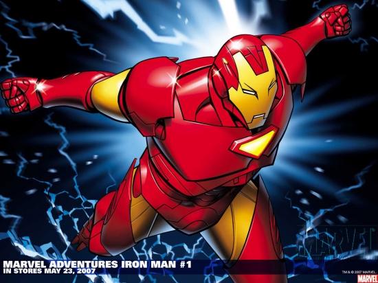 Marvel Adventures Iron Man (2007) #1 Wallpaper