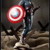 Captain America Premium Format Figure from Sideshow Collectables