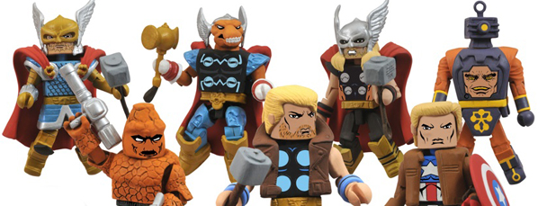 New Marvel Minimates Featuring Cap and Thor