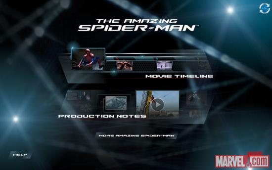 The Amazing Spider-Man Second Screen App