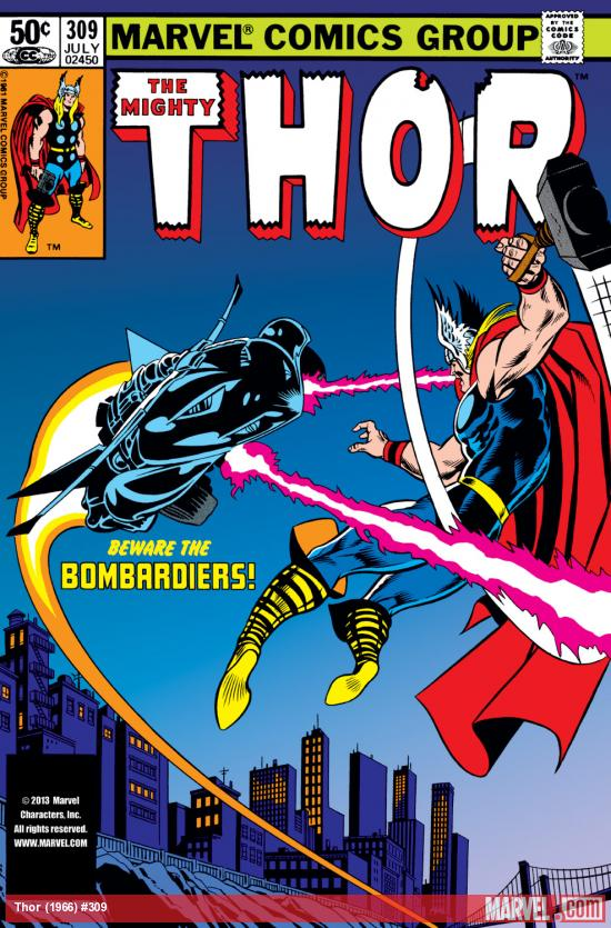 Thor (1966) #309 Cover
