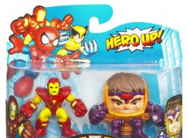Iron Man and M.O.D.O.K. Marvel Super Hero Squad toy two-pack