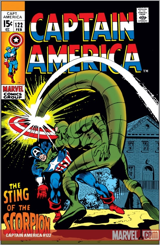 CAPTAIN AMERICA #122